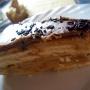 tarta de galletas a la vainilla con cobertura milka - Paso 1 de la receta