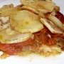 Tumbet de patatas, berenjenas y tomates - Paso 1 de la receta