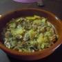 Champiñones con patatas - Paso 7 de la receta
