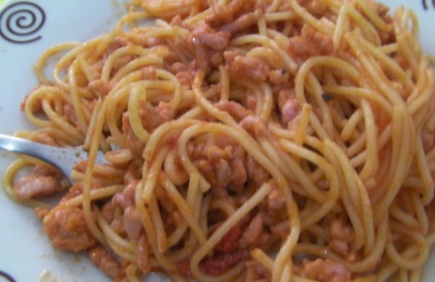 boloñesa sin tomate