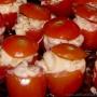 Especial Navidad: Tomates Cherrys rellenos con cóctel de gambas - Paso 3 de la receta