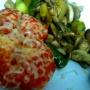 Verduras salteadas y tomate a la plancha - Paso 4 de la receta