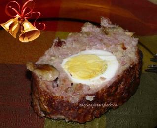 Especial Navidad: Arrollado de carne picada
