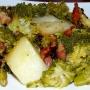 Brocolis con patatas y jamón - Paso 3 de la receta