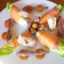 Ensalada con salmón y conservas Serrats - Paso 1 de la receta
