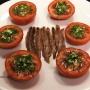 Tomates aliñados - Paso 1 de la receta
