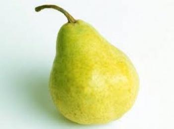 Fruta: 150 g de pera