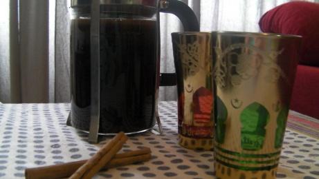café con especias