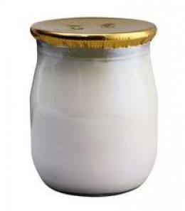 Lacteos: 200 g de yogurt