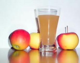 Fruta: Zumo de manzana