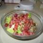 Ensalada templada de setas y jamón. - Paso 5 de la receta