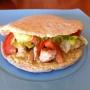 Kebab light de pollo y salsa de mostaza - Paso 5 de la receta