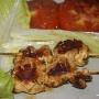 Brocheta de pollo marinado - Paso 1 de la receta