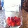 Copa griega de fresas - Paso 1 de la receta