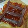 Hojaldre con mermelada de tomate y anchoas - Paso 1 de la receta