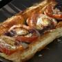 Hojalde con Berenjena, tomate y queso de Cabra  - Paso 2 de la receta