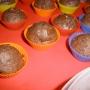 mini magdalenas de chocolate - Paso 5 de la receta