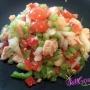 Ensalada de huevas de bacalao - Paso 3 de la receta