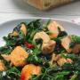 Salmón fresco con espinacas y aceite de oliva virgen extra Ybarra - Paso 7 de la receta