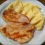 pechugas de pollo a la plancha con pure de patatas - Paso 1 de la receta