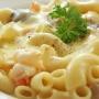 Macarrones con Queso Pollo y Espinacas - Paso 1 de la receta