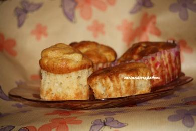Muffins de manzana y limóm
