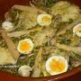 Cazuela de merluza a la Koskera - Paso 1 de la receta