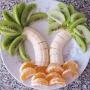Palmera Tropical con Frutas - Paso 1 de la receta