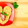Espaguetis románticos para San Valentín - Paso 1 de la receta