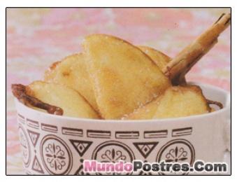 Fritos de Manzana con Canela