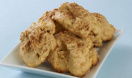 Galletas de manzana con canela