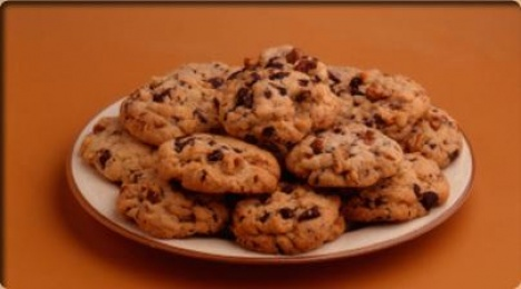 Cookies de chocolate y nueces