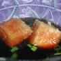 Tofu frito con salsa de soja - Paso 4 de la receta