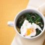 huevos escalfados con espinacas - Paso 2 de la receta