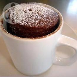 Brownie a la taza