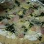 Pizza de espinacas a la nata - Paso 2 de la receta