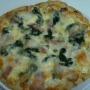 Pizza de espinacas a la nata - Paso 3 de la receta