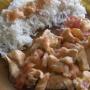 pollo en leche de coco - Paso 7 de la receta