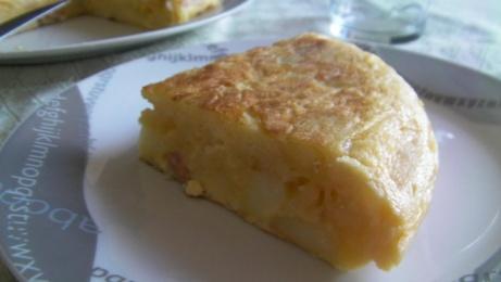 tortilla a los 3 quesos