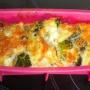 Pastel light de brocoli y coliflor - Paso 7 de la receta