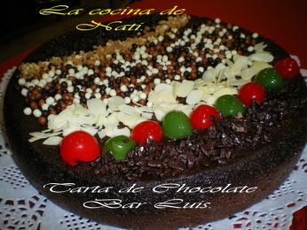 TARTA DE CHOCOLATE AL MICROONDAS