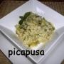 Risotto de lechuga y hierbabuena - Paso 3 de la receta
