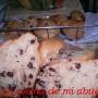 Muffins de arándanos rojos y pepitas de chocolate - Paso 2 de la receta