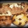 Magdalenas (bicolores) de mandarina - Paso 2 de la receta