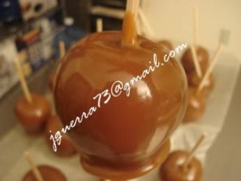 Manzanas Cubiertas de Caramelo