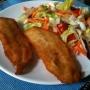 Filetes de Merluza empanados - Paso 4 de la receta