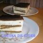 TARTA DE CHOCOLATE BLANCO Y NOCILLA - Paso 4 de la receta