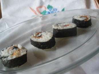 sushi (tekka maki)