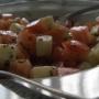 ensalada rápida de tomate - Paso 1 de la receta
