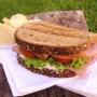 Sandwich de Pavo y Queso Cremoso - Paso 1 de la receta